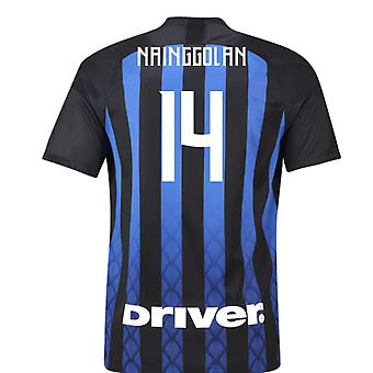2018-19 Inter Milan Home Football Shirt (Nainggolan 14)
