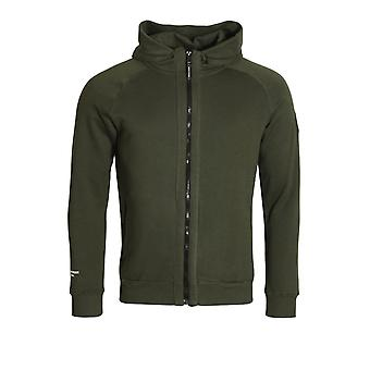 WEEKEND OFFENDER Ross Zip Through Hoodie | Spruce
