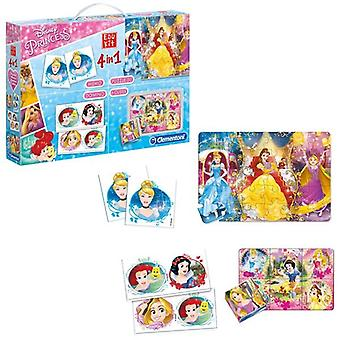 Clementoni Princess Superkit 4in1