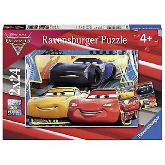 Ravensburger puzzel Cars 3 2x24 pc