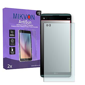 LG V20 Screen Protector - Mikvon AntiSun (Retail Package with accessories)