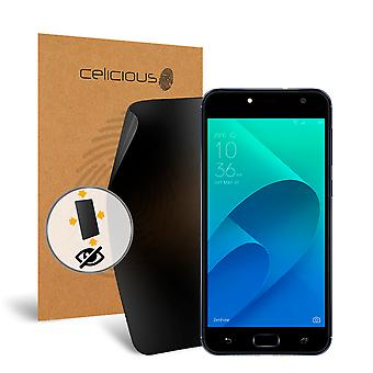 Celicious Privacy Plus 4-Way Anti-Spy Filter Screen Protector Film Compatible with Asus Zenfone 4 Selfie (ZB553KL)