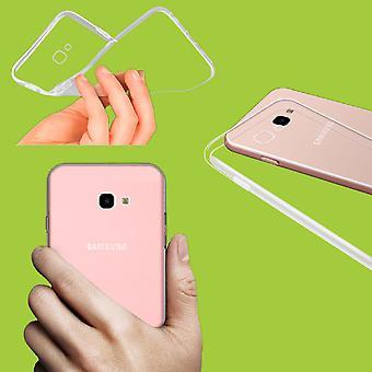 Für Samsung Galaxy J6 J600F Silikoncase Transparent Tasche Hülle Cover Etuis Neu