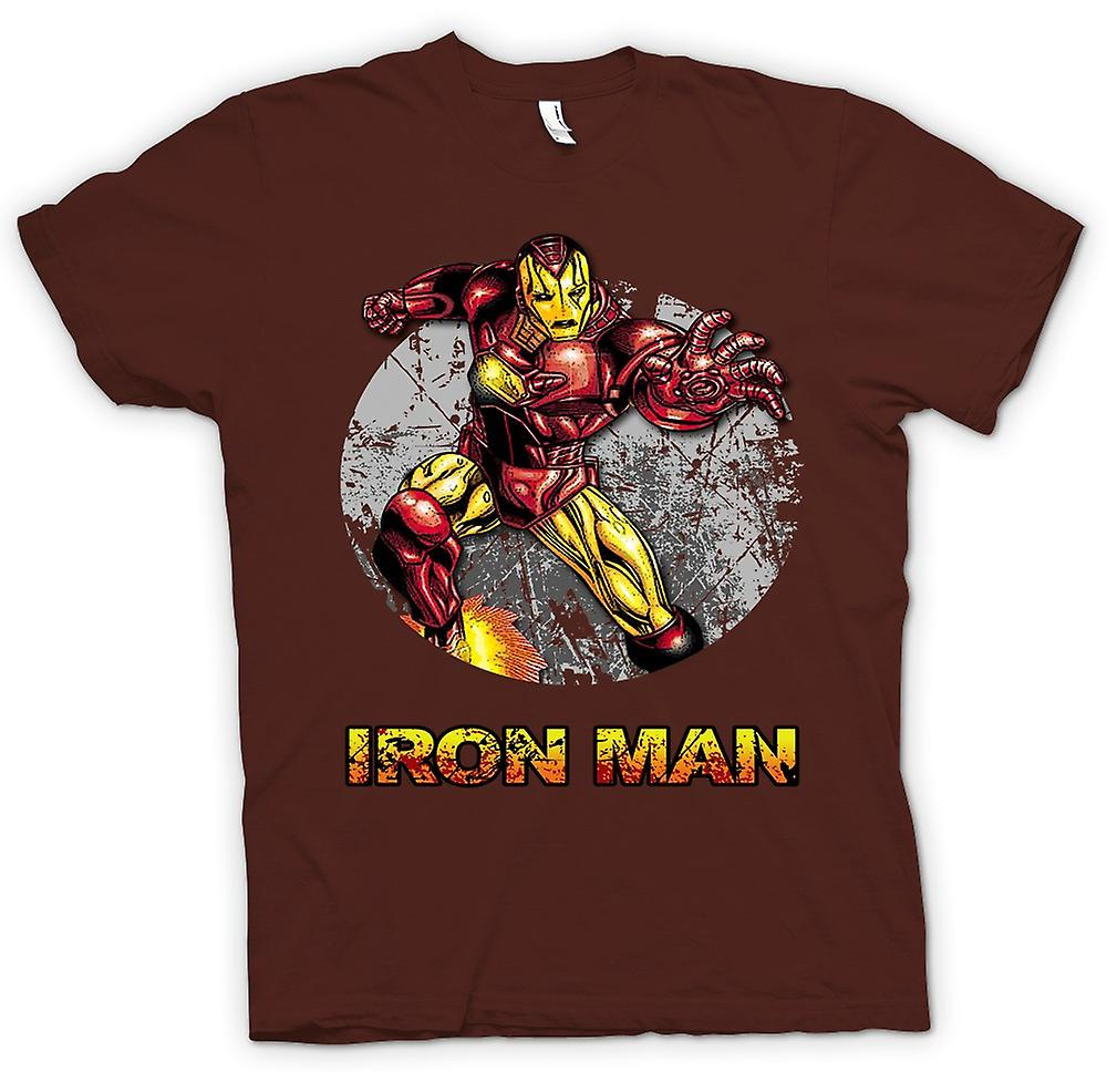 Mens T-shirt - Iron Man - komische Super held