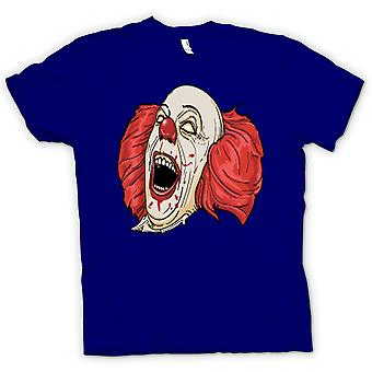 Womens T-shirt - Stephen King's It Pennywise Portrait