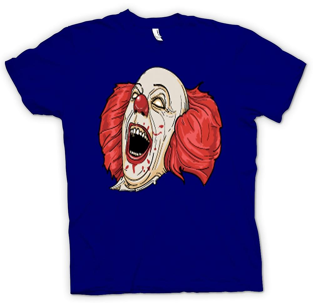 Heren T-shirt-Stephen King de It Pennywise portret