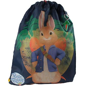 Childrens Peter Rabbit mørk blå trener PE bag
