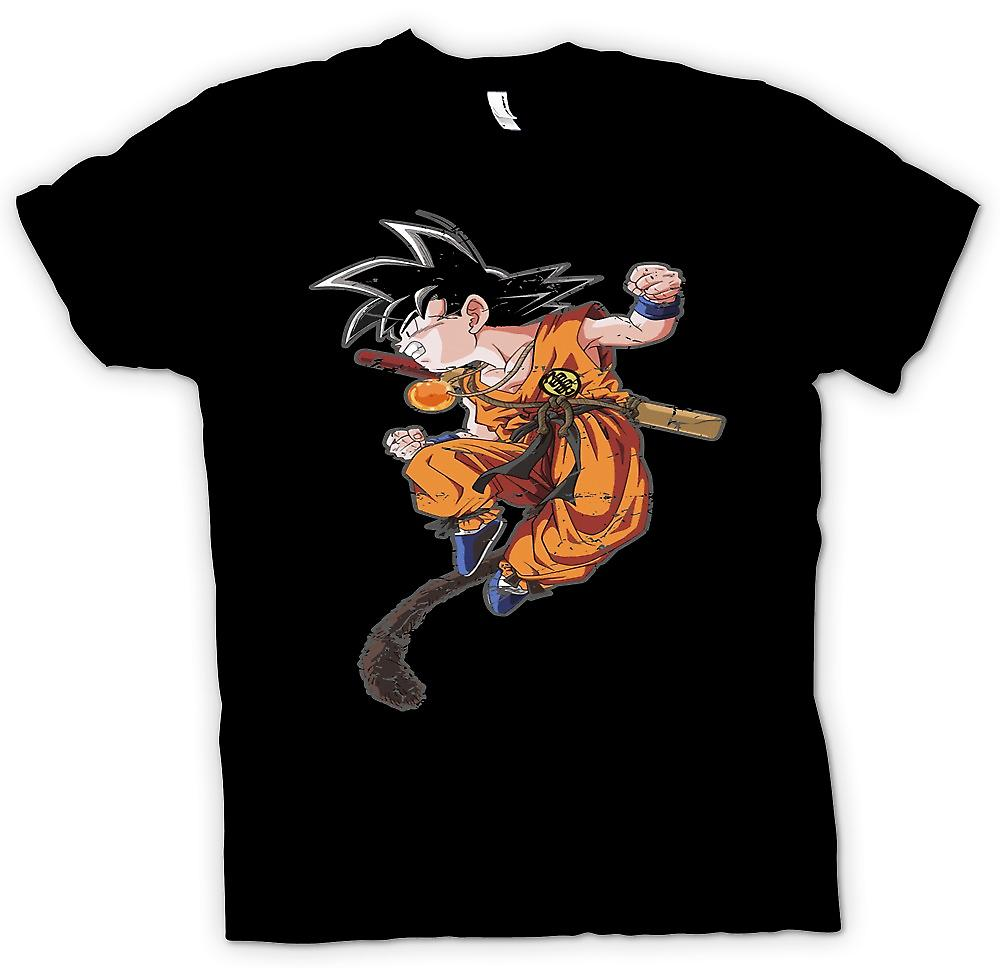 Womens T-shirt - Goku - Dragonball Inspired
