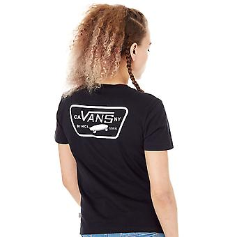 Vans svart SP18 hela patchen Womens T-Shirt