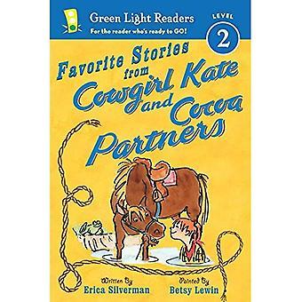 Lieblingsgeschichten von Cowgirl Kate und Kakao-Partnern