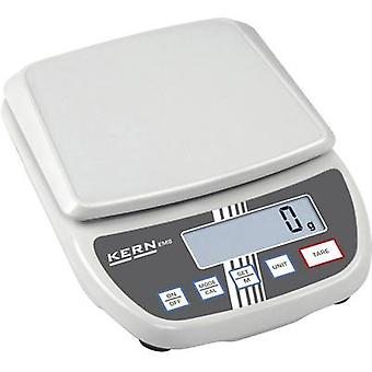 Kern Letter scales Weight range 6 kg Readability 0.1 g mains-powered, battery-powered White
