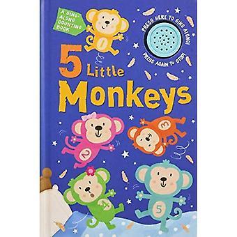 5 petits singes de son livre