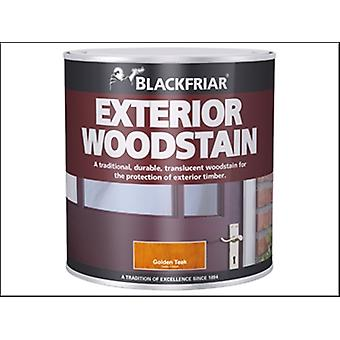 Blackfriar Traditional Exterior Woodstain Brown Mahogany 500ml