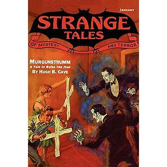 Papirmasse klassikere mærkelige historier 7 januar 1933 af Betancourt & John Gregory