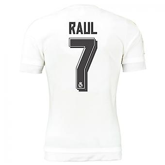 2015-16 real Madrid domicile maillot (Raul 7)