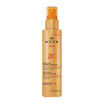 NUXE Sun Milky Spray For Face & Body SPF20 150ml
