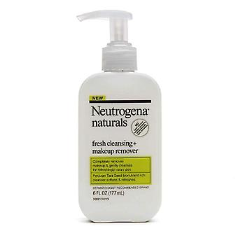 Neutrogena naturals fresh cleansing + makeup remover, 6 oz