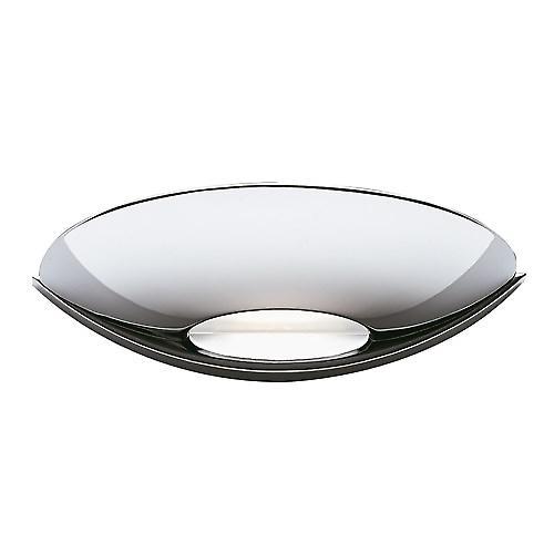 Searchlight 1107CC Slice Modern Chrome Halogen Uplighter Wall Light