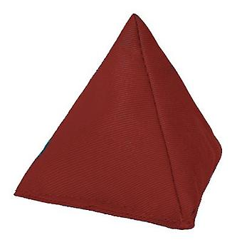 Wine Cotton Triangular Juggling Bean Bag for Outdoor Play