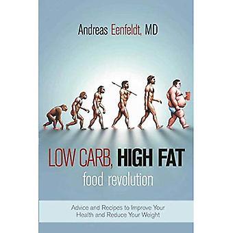 Low carb, hög fetthalt Food revolution: råd och recept för att förbättra din hälsa och minska din vikt