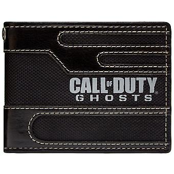 Activision Call Of Duty Ghosts Stitched Style ID & Card Bi-Fold Wallet