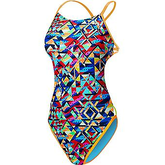 Tyr Mosaic Mojave Cutoutfit Swimwear For Girls
