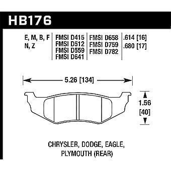 Hawk Performance HB176N.614 HP Plus