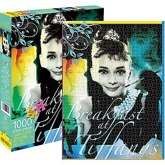 Audrey Hepburn Breakfast At Tiffanys 1000 piece jigsaw puzzle   (nm)