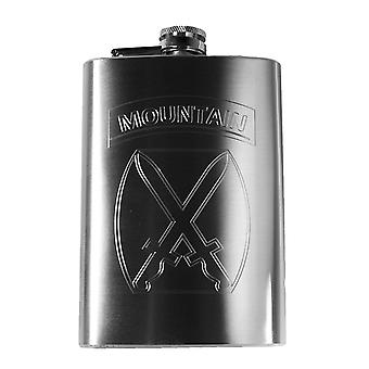 8oz 10th mountain division flask us army 10th r1