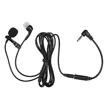Mikrofon 2-i-1 Lavalier Lapel Omnidirectional Clip-on Microphone