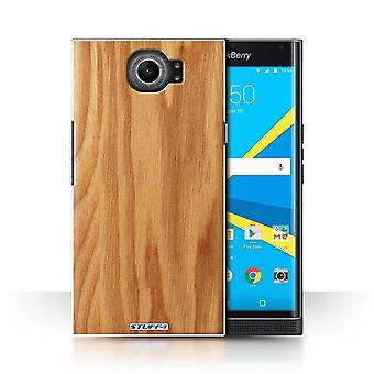 STUFF4 Case/Cover for BlackBerry Priv/Oak/Wood Grain Pattern
