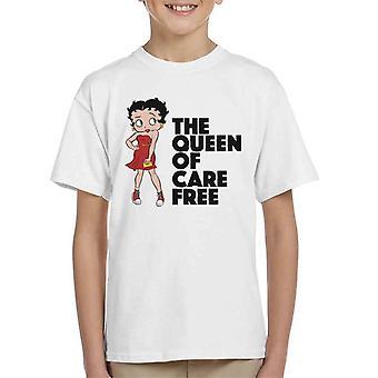 Betty Boop Pflege Free Kid's T-Shirt