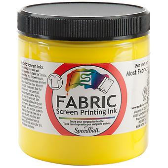 Fabric Screen Printing Ink 8 Ounces Yellow Fspi8 4565