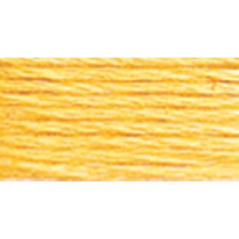 Dmc Six Strand Embroidery Cotton 100 Gram Cone Yellow Pale 5214 744