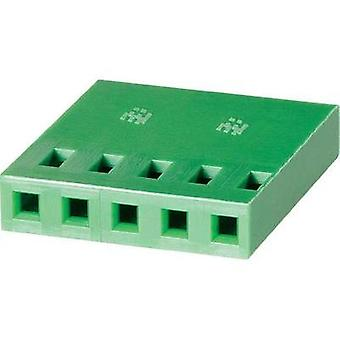 Socket enclosure - cable AMPMODU MOD IV Total number of pins 10 TE Connectivity 1-925366-0 Contact spacing: 2.54 mm 1 pc
