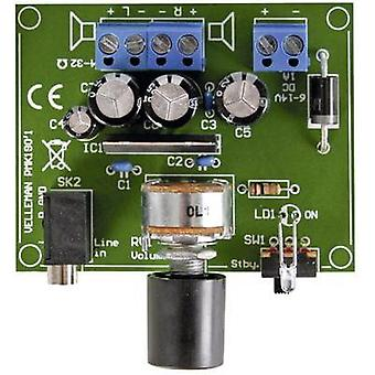 Amplifier Assembly kit Velleman 6 Vdc, 9 Vdc, 12 Vdc