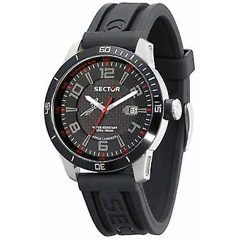 Sector 850 Black Dial Rubber Strap R3251575004 Watch