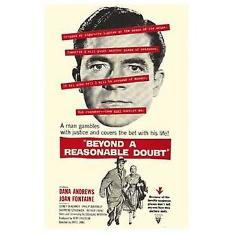 Beyond a Reasonable Doubt Movie Poster (11 x 17)