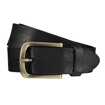 BERND GÖTZ belts men's belts leather belt black 3901