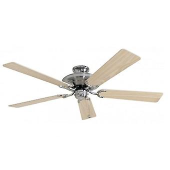 Ceiling Fan Riviera stainless steel 132 cm / 52