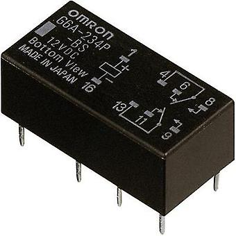 PCB relays 5 Vdc 2 A 2 change-overs Omron G6A-274P-ST-US 5 VDC 1 pc(s)