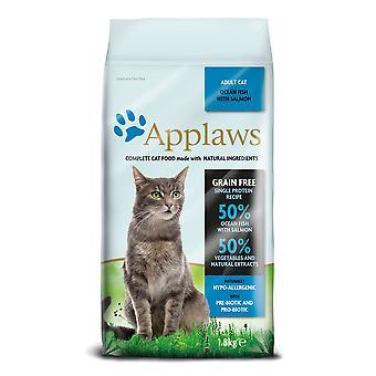 Applaws kat tør Ocean fisk med laks 1,8 kg