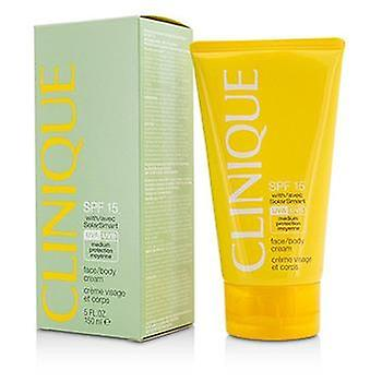 Clinique Face / Body Cream SPF 15 UVA / UVB - 150ml/5oz