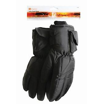 Ladies oppvarmet hansker 3M Thinsulate TM fiber for ski, fiske og sykling