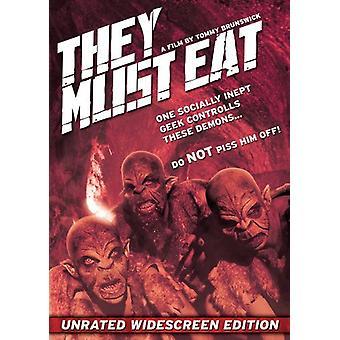 De skal spise [DVD] USA importerer