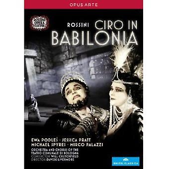 G. Rossini - importazione di Ciro Di Babilonia [DVD] Stati Uniti d'America