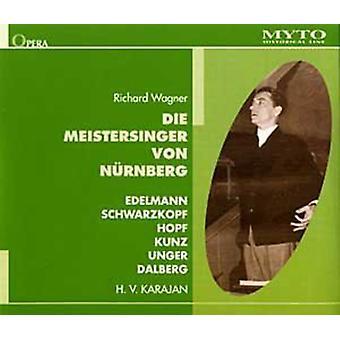 Wagner / Edelmann / Schwarzkopf / Hopf / Pflanzl - Die Meistersinger Von Nürnberg [CD] USA import