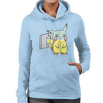 Charge Pikachu Pokemon Women's Hooded Sweatshirt