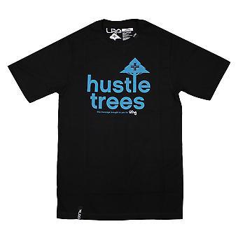 LRG RC trængsel træer T-shirt sort