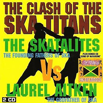 Skatalites & Laurel Aitken - Clash of Ska Titanen [CD] USA import